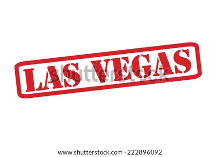 las vegas red rubber stamp