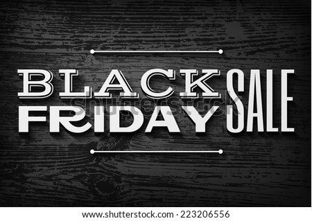 black friday announcement on