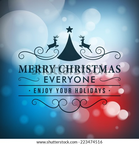 merry christmas message and
