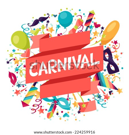 stock-vector-celebration-festive-background-with-carnival-icons-and-objects