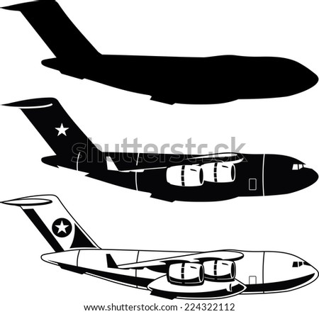 war cargo military airplane