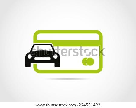 credit debit card car
