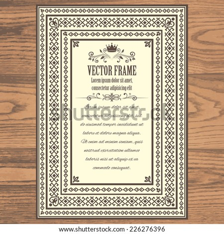 Marriage certificate frame free vector download (6,928 Free vector ...