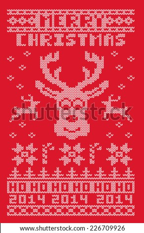 ugly christmas 2014 sweater