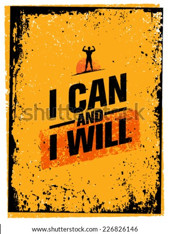 i can and i will workout and