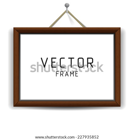 wooden rectangular 3d photo
