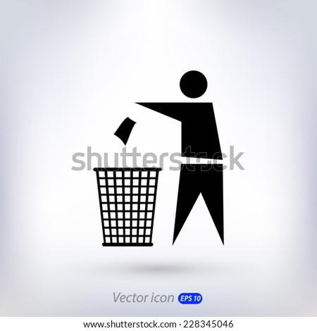 recycling sign label  icon