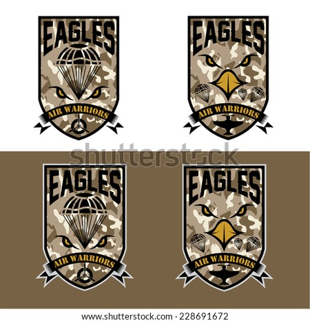 eagles air warriors army