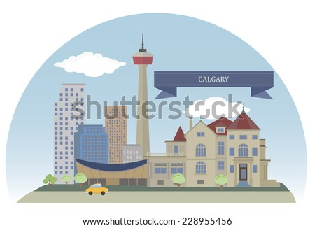 calgary city in the province