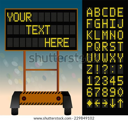 electronic bulletin board  put