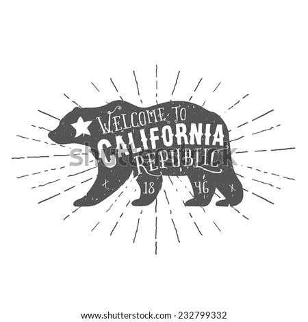 vintage california republic