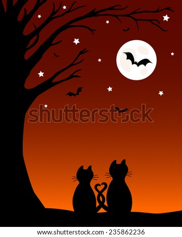 vector halloween illustration