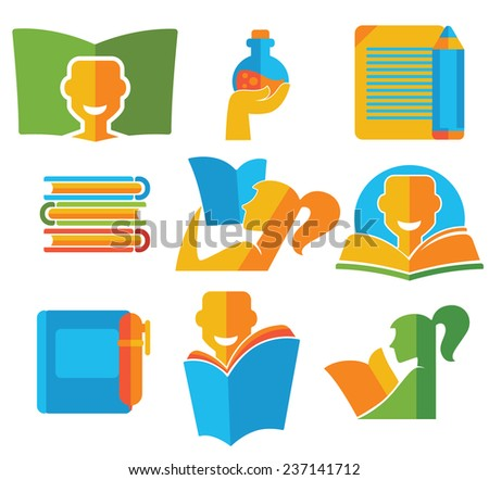 vector education collection