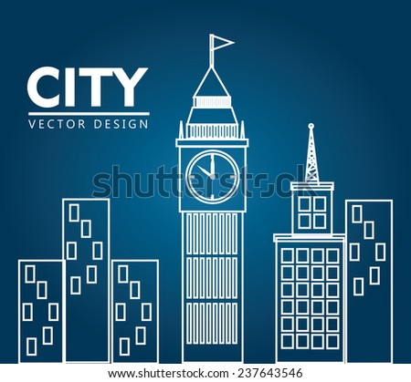 urban design over blue