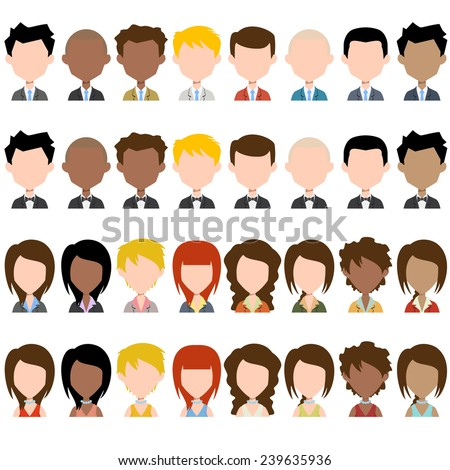 business people avatar  plus