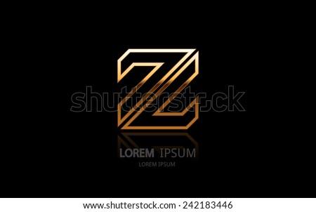 letter z logo alphabet