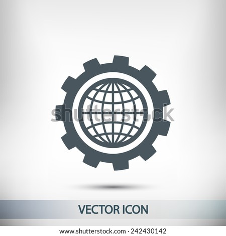 setting parameters  globe icon