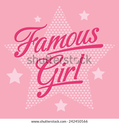girl typography  t shirt