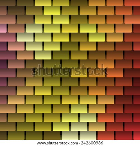 colored vector shingles