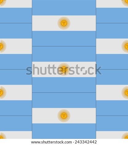 flag argentina texture vector