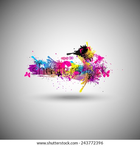 abstract vector party