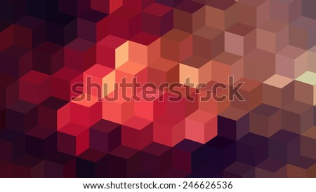 modern abstract square