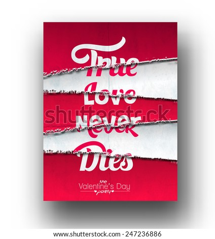 true love never dies text made