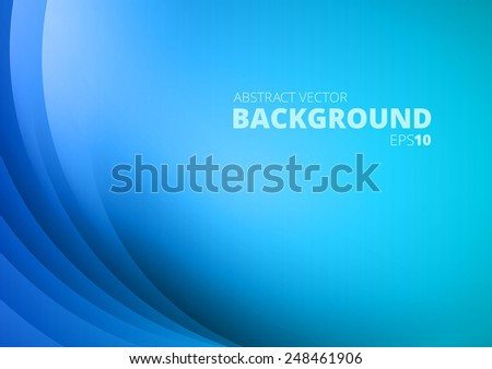 blue abstract lights   vector