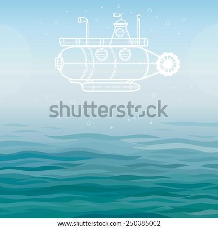 vector background  stylized