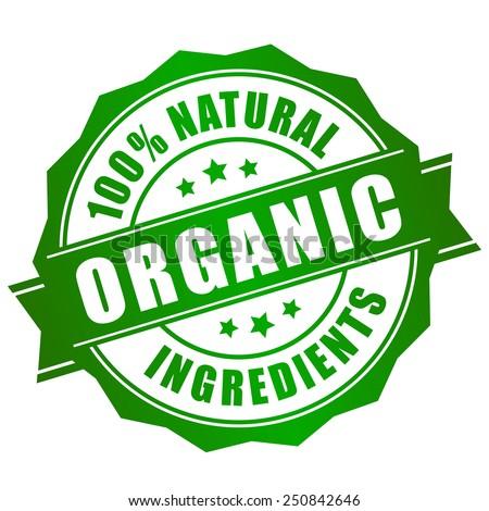 natural organic icon