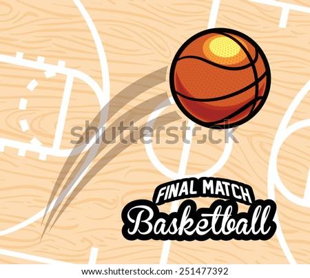 basketball emblem design