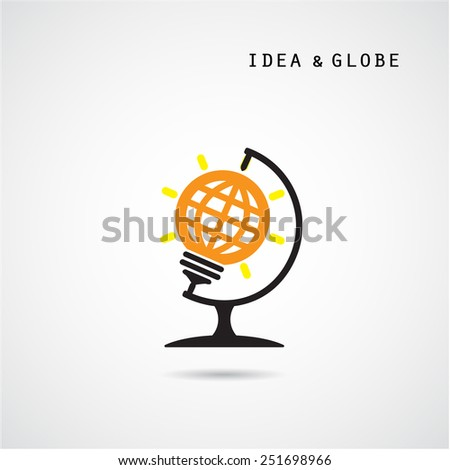 creative bulb abstract vector