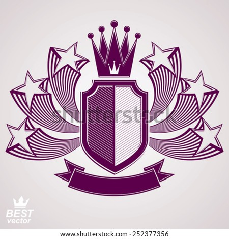 empire stylized vector graphic