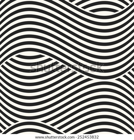 abstract  wavy stripes textured