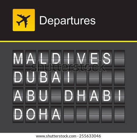 flip alphabet airport