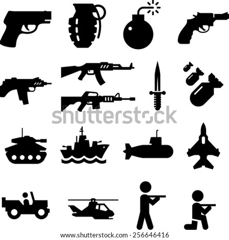 military vehicles  soldiers and