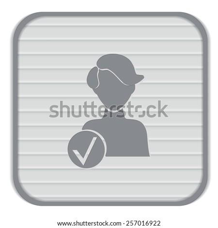 add friend avatar icon man