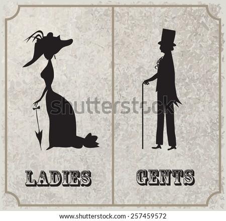 lady and gentleman symbol