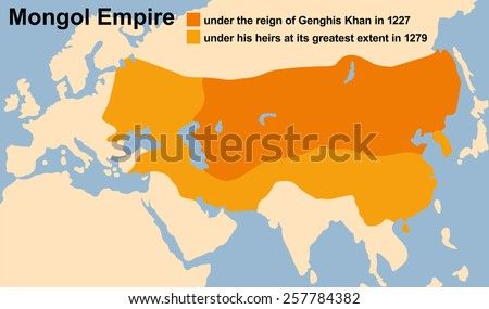 genghis khan's mongol empire in