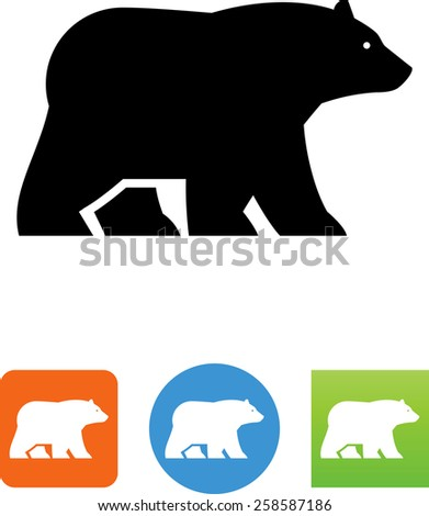 bear walking symbol for