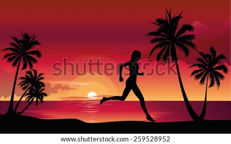 woman in the yoga poses on the