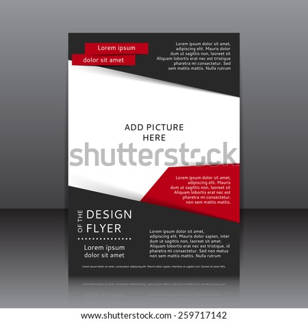 Red Flyer Background Template Free Vector Download  Free