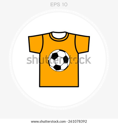 football jersey icon