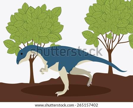 prehistoric design over