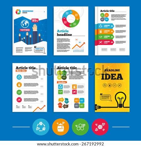 brochure or flyers design