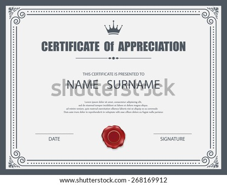 Achievement Certificate Border Free Vector Download (6,129 Free