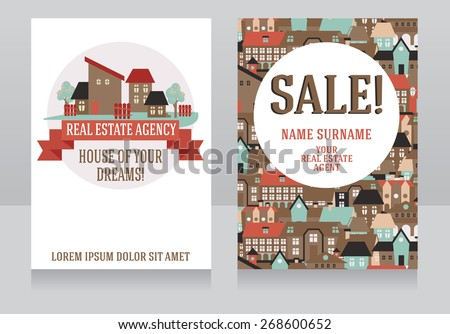 template for real estate agency
