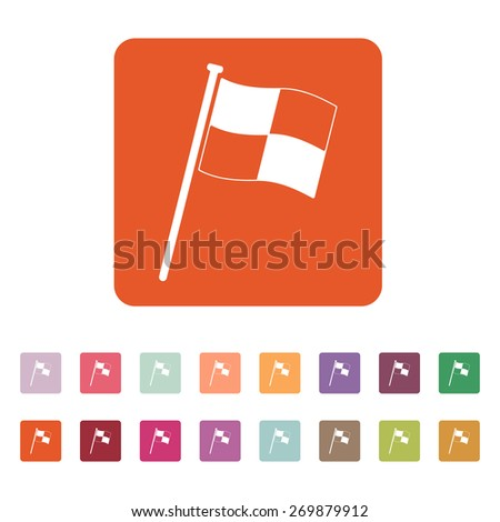 the race flag icon finish