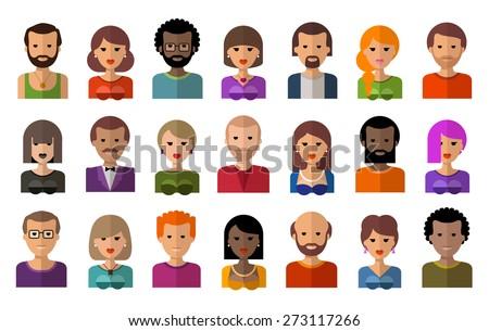 people vector logo design