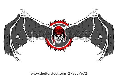 graphic mascot vector image
